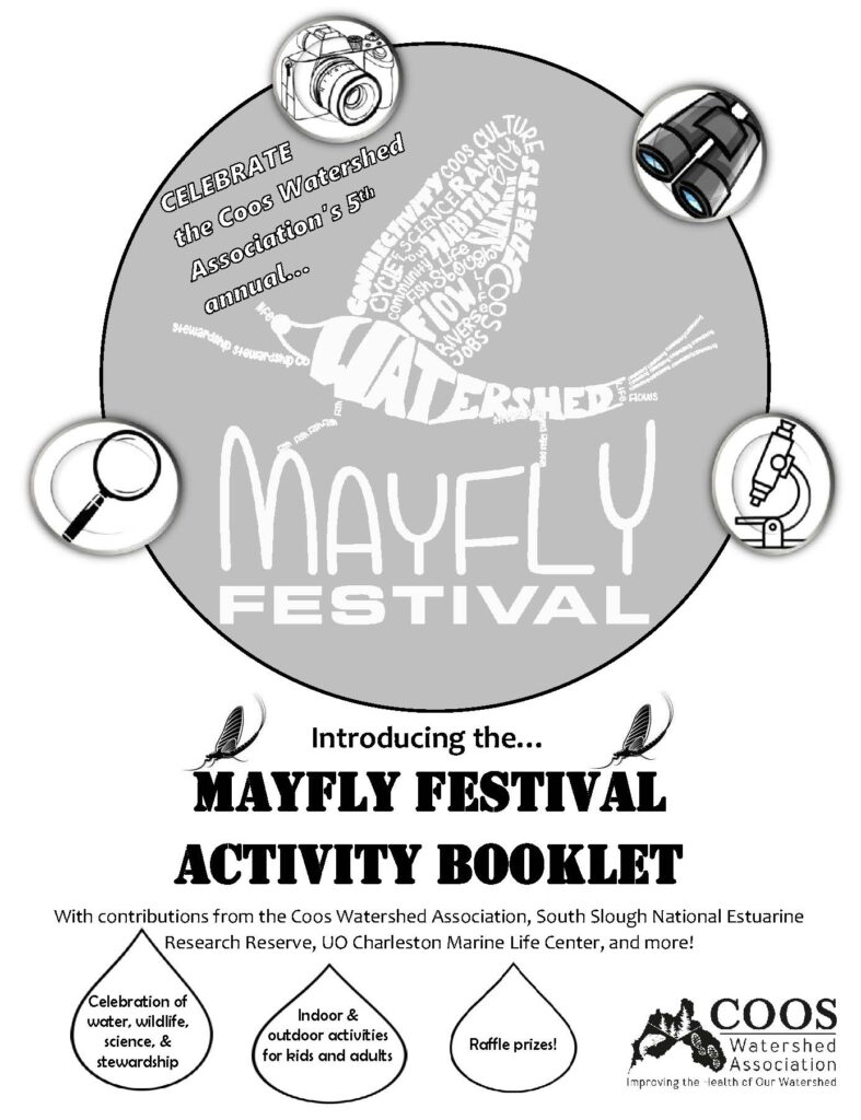 Cover page Mayfly Booklet